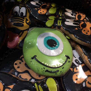 monsters inc mike wazowski cookie