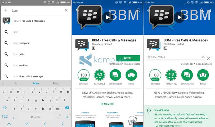 download aplikasi bbm di android