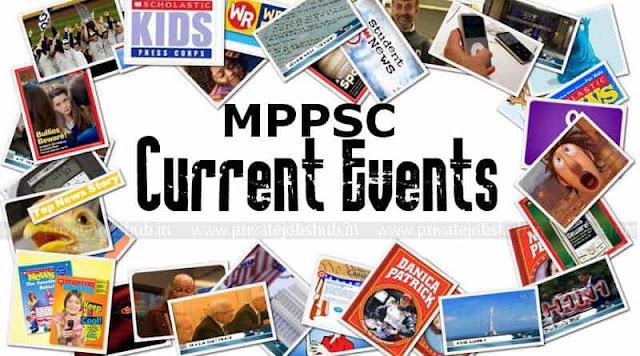 MPPSC Current Affairs