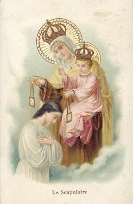 MÃE DO CARMO: Igreja Católica celebra Nossa Senhora do Carmo.