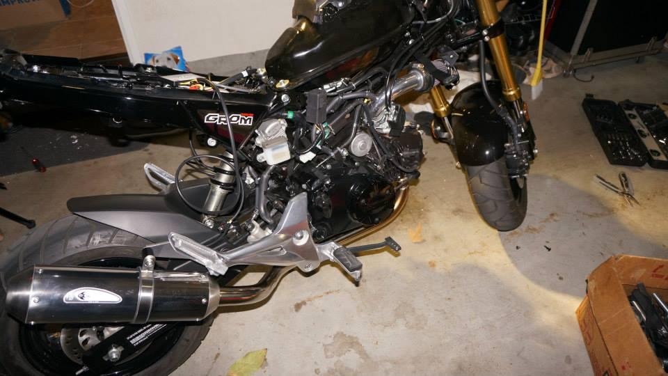 HondaGromBlog: Dobeck Performance Air Fuel Controller and OPMID