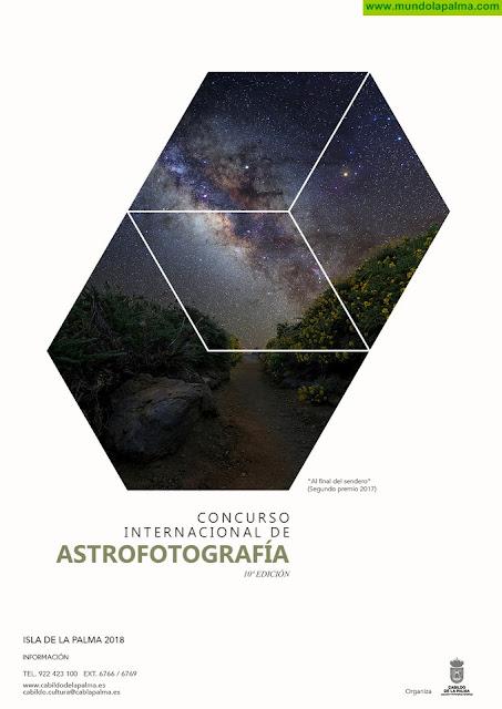 El Cabildo amplía el plazo para participar en el Concurso Internacional de Astrofotografía La Palma 2018