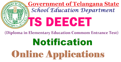 TS DIETCET 2017 TS DEECET 2017 Notification Telangana TTC Notification 2017 -18 D.Ed Admissions/Online Exam date, Online Application form, Important dates, Syllabus, Eligibility, How to Apply, Last date for Apply online, Exam pattern, Test centers, Hall ticket, Answer Key, TS-DEECET 2017 http://tsdeecet.cgg.gov.in/ TSDEECET 2017  online application Schedule Online  TS DEECET 2017 Online Application Form, How to Apply, TSDEECET Website, Online Applying Procedure, Telangana D.Ed Colleges List, DEld Course Details, Entrance Exam Pattern, What is DEECET?, DEECET Means, Govt. DIETS,  TS-DEECET 2015 Schedule, Important dates, Telangana DEECET TS DEECET 2017 Notification,TS DIETCET 2017 Schedule  TS DEECET 2017 Notification -TS DIETCETOnline Registration @ tsdeecet.cgg.gov.in TTC apply online| TS DEECET 2017 Notification Telangana D.Ed (TTC) Exam|  TS DEECET 2017 Online Application| Telangana State Diploma in Elementary Education Common Entrance Test 2017