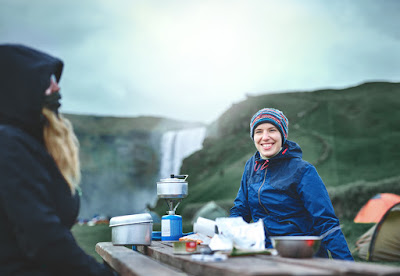 Camping is a great way to save money in an expensive country like Iceland