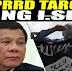 PRRD TARGET NG I.S.I.S KEEP SAFE PANGULONG DUTERTE