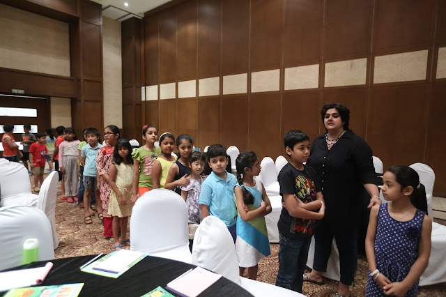 DLF5 celebrates their resident little angels at Club5