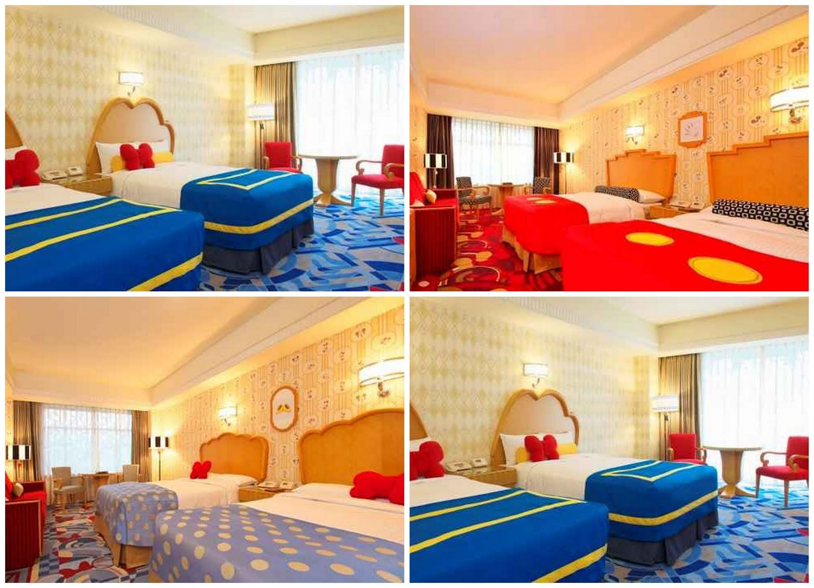 Mickey Mouse Minnie Donald Duck Character Rooms Click Here For More Information