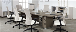 Master Your Meetings with A Powered Conference Table from OfficeAnything.com