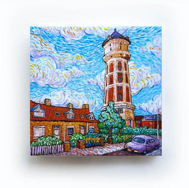 Watertoren Roosendaal Like Van Gogh