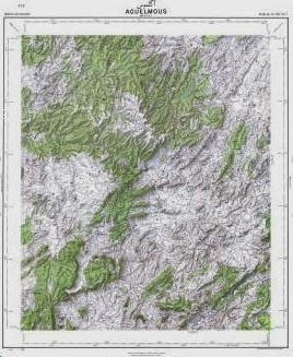 All series of topographic maps created by the US Army Map ...