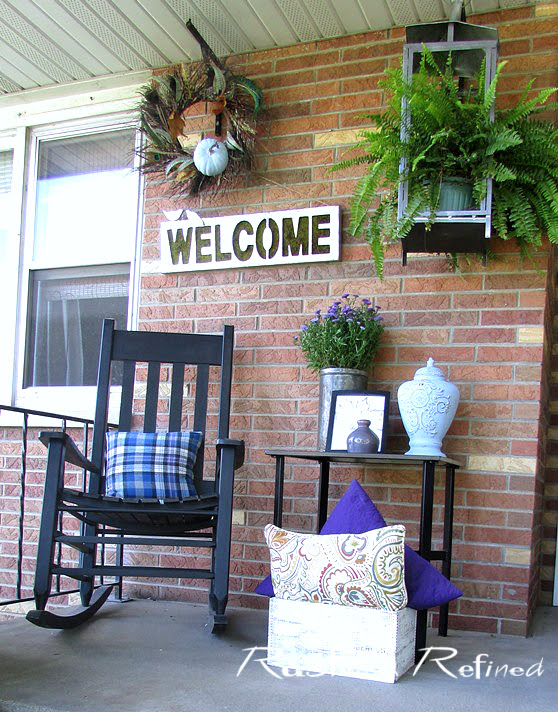 Porch Decor on a Budget