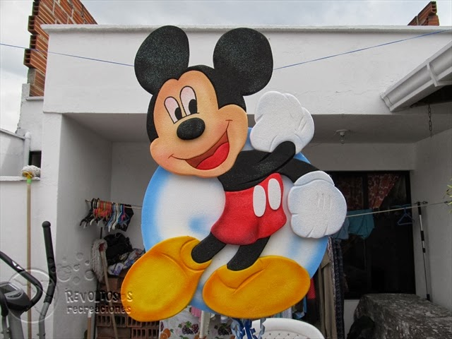 DECORACION FIESTAS INFANTILES MICKEY MOUSE 11 RECREACIONISTAS MEDELLIN