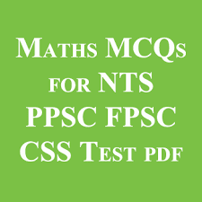 Math Mcqs Notes Book For PPSC,NTS,CSS