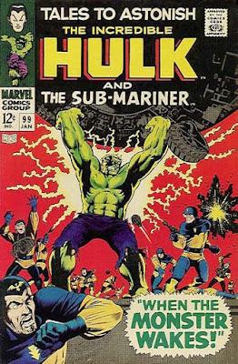 Tales to Astonish #99, the Incredible Hulk