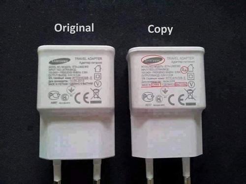 kenal pasti charger handphone samsung original atau tiruan, perbezaan charger samsung asli dan palsu, harga charger samsung original malaysia, harga charger samsung fast charging