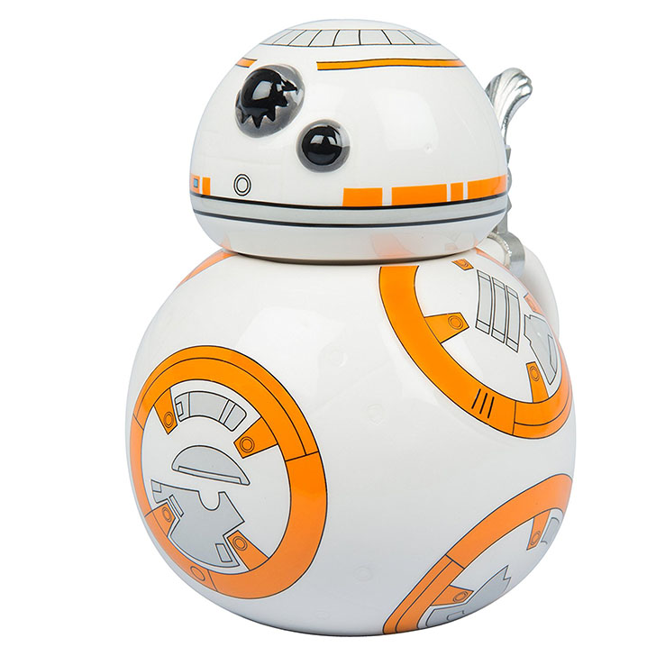 Star Wars BB8 Ceramic 22 oz. Stein Coffee Mug with Hinged Lid