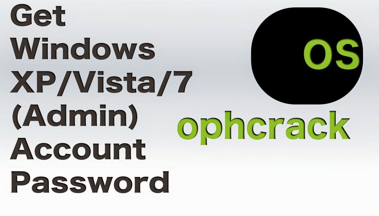 How to Hack Windows 7 Admin Password using Ophcrack?