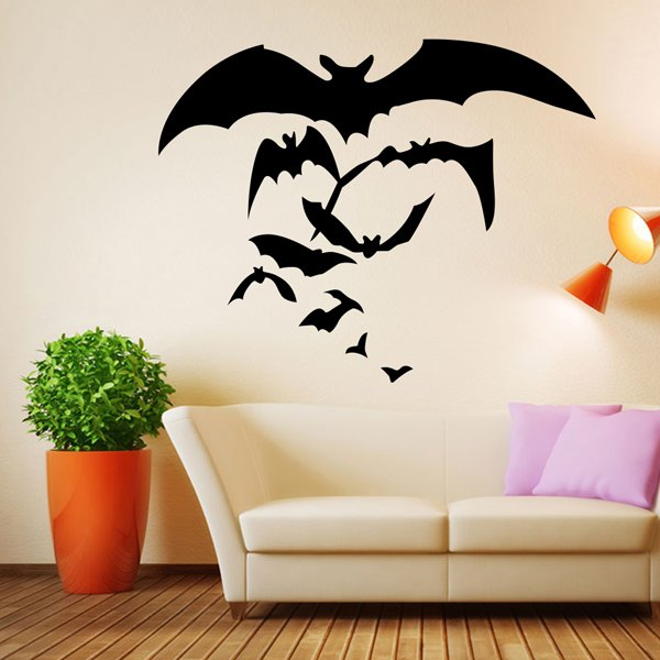 sticker da muro tema halloween come decorare la casa ad halloween halloween home decorations decorazioni per la casa halloween rose wholes shopping on line 31 ottobre 2016 halloween 2016 color block by felym blog italiani lifestyle