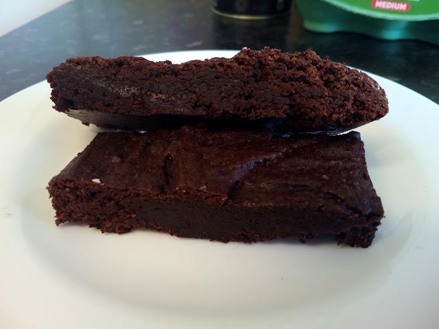 Swedish chocolate cake kladdaka