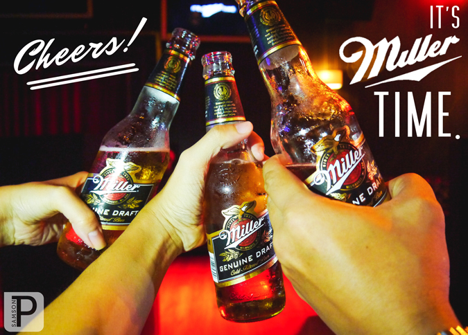 Cheers! It's Miller Time.