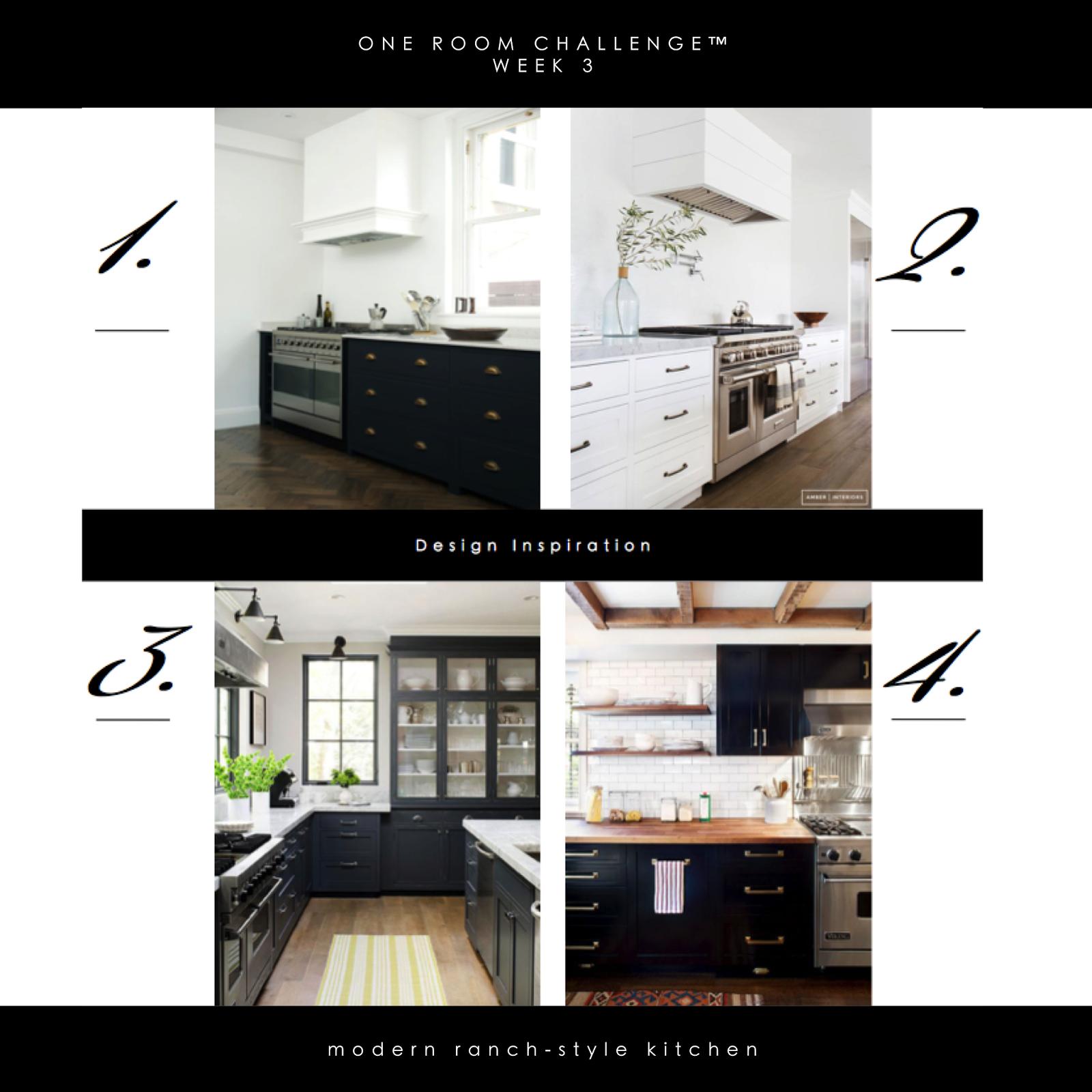 One Room Kitchen Interior Design In Mumbai: ONE ROOM CHALLENGE // WEEK 3 // MODERN RANCH STYLE KITCHEN