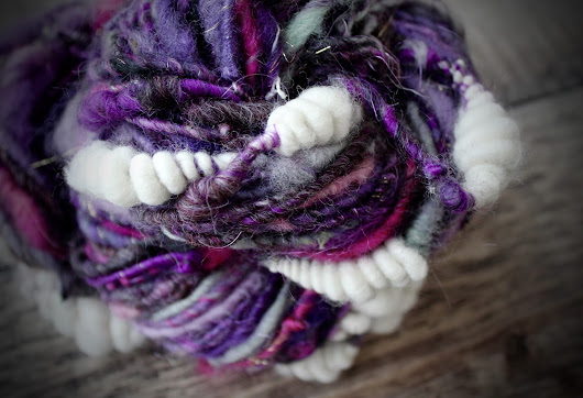 Art Yarn For The Harrogate Knitting and Stitching Show 2016