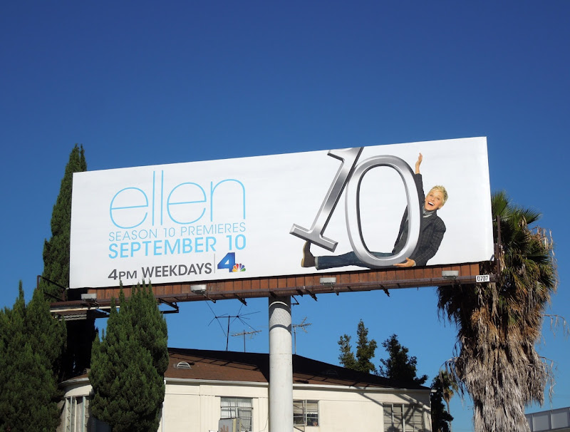 Ellen season 10 billboard