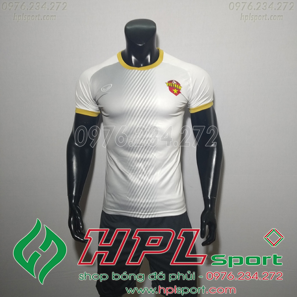 Áo bóng đá đội tuyển Việt Nam Fifa 4 trắng