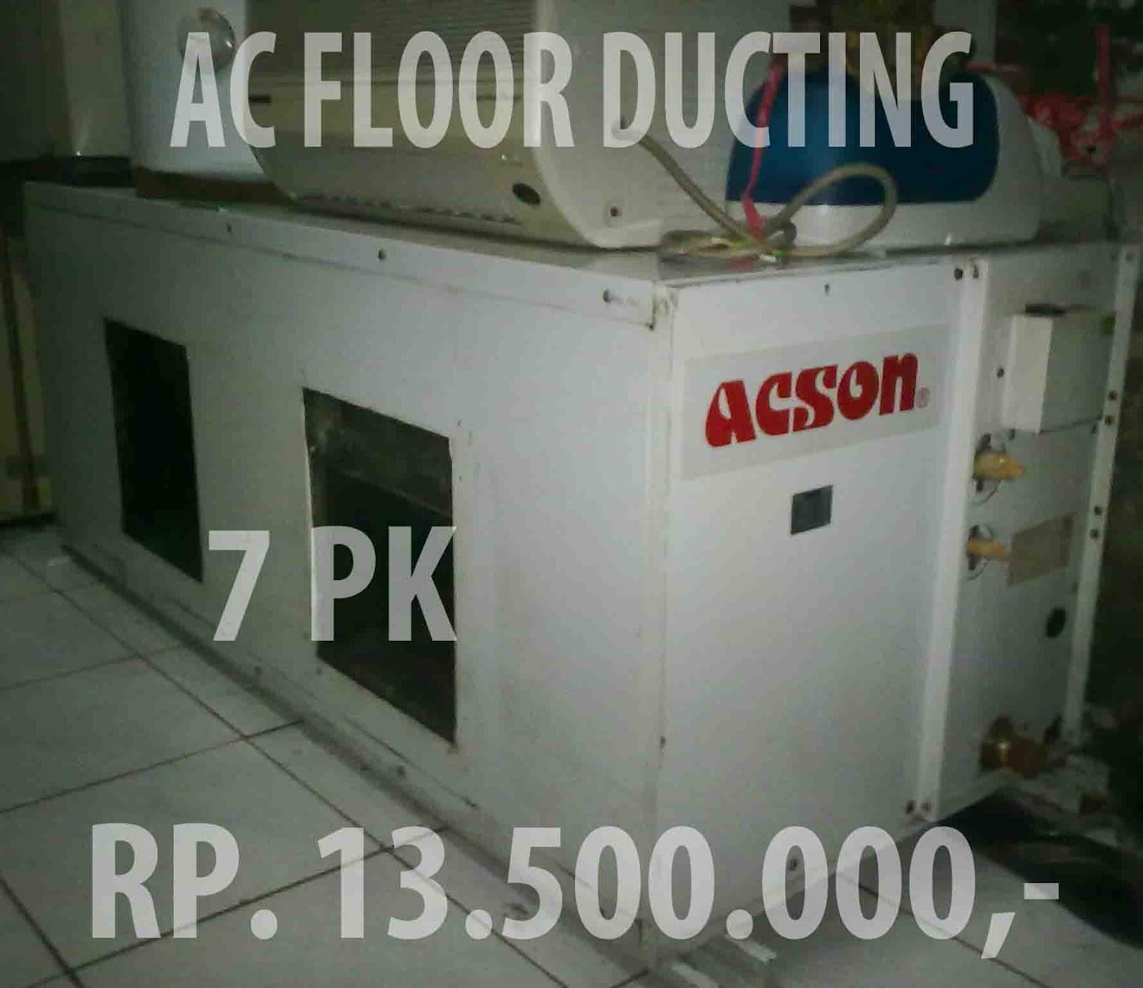 floor ducting ac bekas murah lokasi bandung
