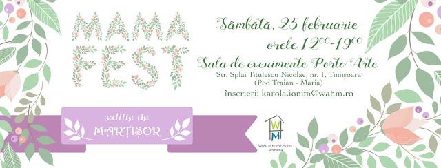 MAMA FEST la Timisoara - 25 feb 2017