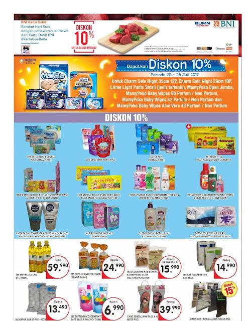 Katalog Brosur Super Indo Bandung, Sukabumi, Cirebon, Kediri, Mojokerto, Jombang Edisi 20 Juli Hingga 26 Juli 2017