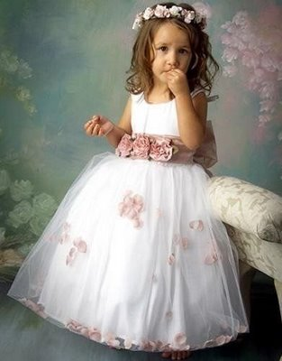 Vestidos de daminhas de honra - Dicas, fotos e modelos