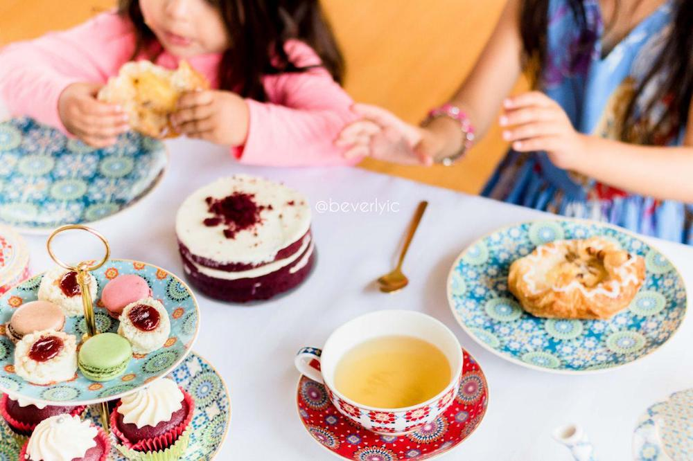 high tea with kids at home