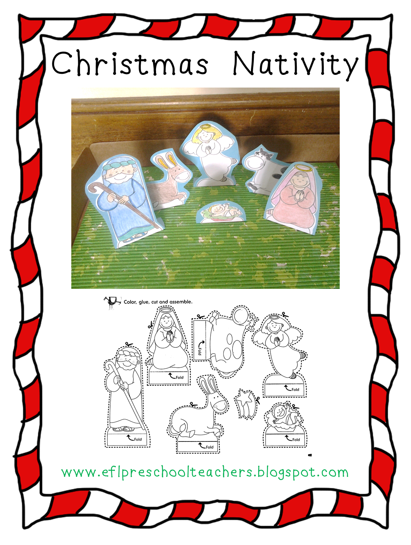 ESL/EFL Preschool Teachers: Christmas !!