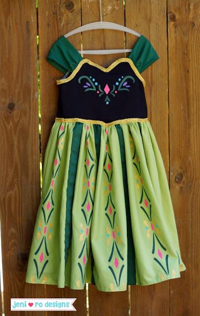 #TUTORIAL  Vestido coronación Ana Frozen Disney