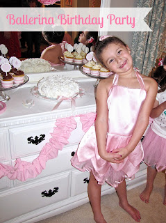 kids ballerina party ideas