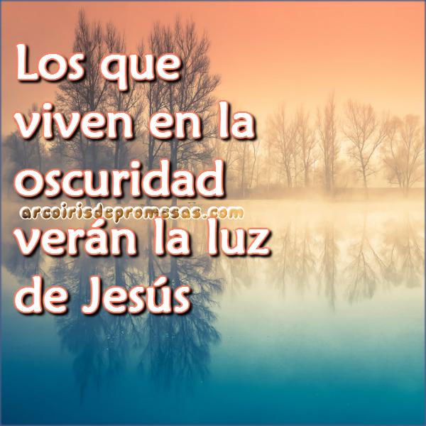 la luz de jesús reflexiones cristianas con imágenes