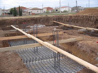 Construcción de Zapatas Combinadas