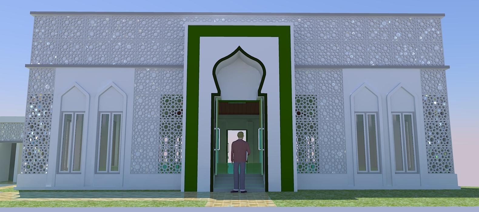 Gambar Masjid Jasa Pembuatan Site Plan
