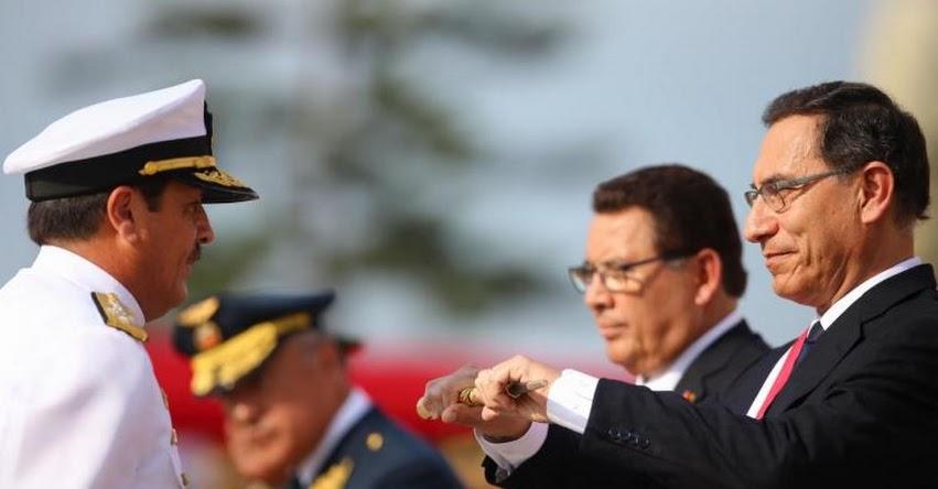 Presidente Martín Vizcarra es reconocido jefe supremo de las Fuerzas Armadas y Policía Nacional