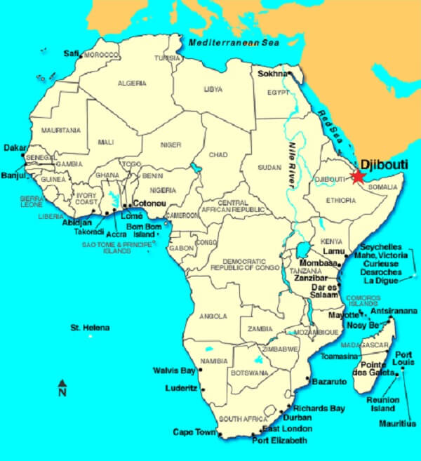 AFRICAN SHIPPING LINE - ASLINE: AFRICAN SHIPPING LINE - DJIBOUTI