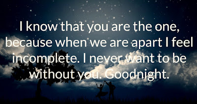 Good Night Romantic And Sweet Love Quotes Azquotes