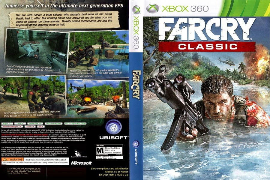 Far Cry Classic Xbox360 free download full version