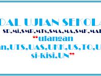 LENGKAP SOAL UTS PTS SMA  SEMESTER GANJIL KELAS 12 TAHUN AJARAN 2017-2018