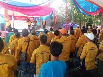 Deklarasi Laskar Muda Hanura (Lasmura) Lampung Diisi Dengan Bakti Sosial