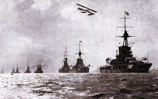 Grand Fleet at sea