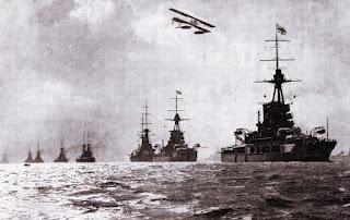 Grand Fleet at sea