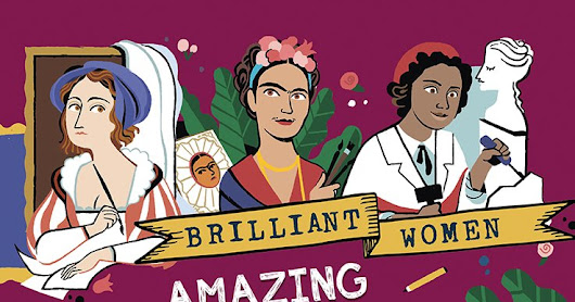 Book Review - Brilliant Women: Amazing Artists and Designers