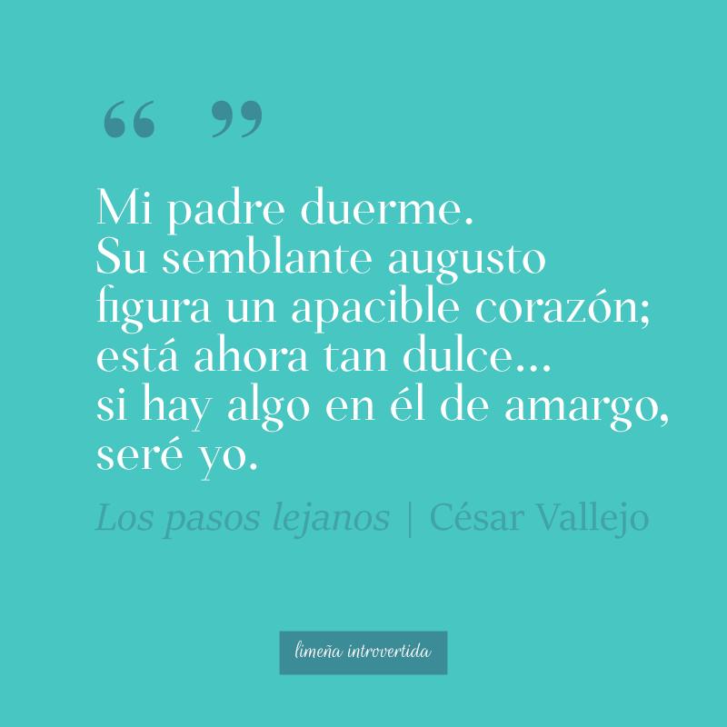 Verso para el día del padre del poeta peruano César Vallejo
