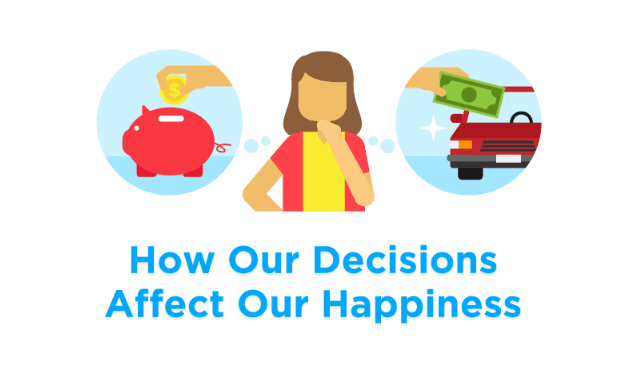 How Our Decisions Affect Our Happiness